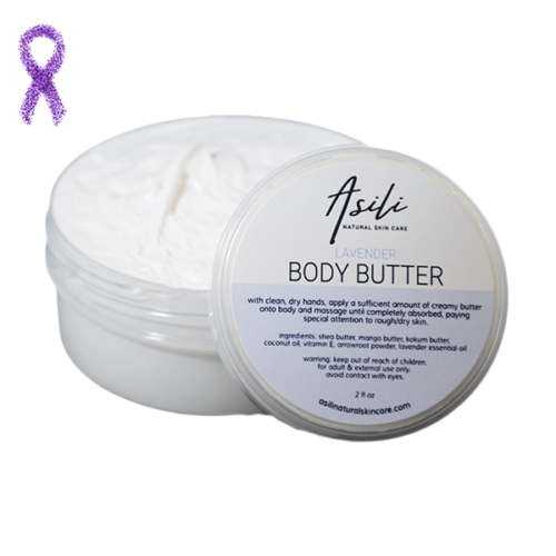 lavender body butter asili natural skincare